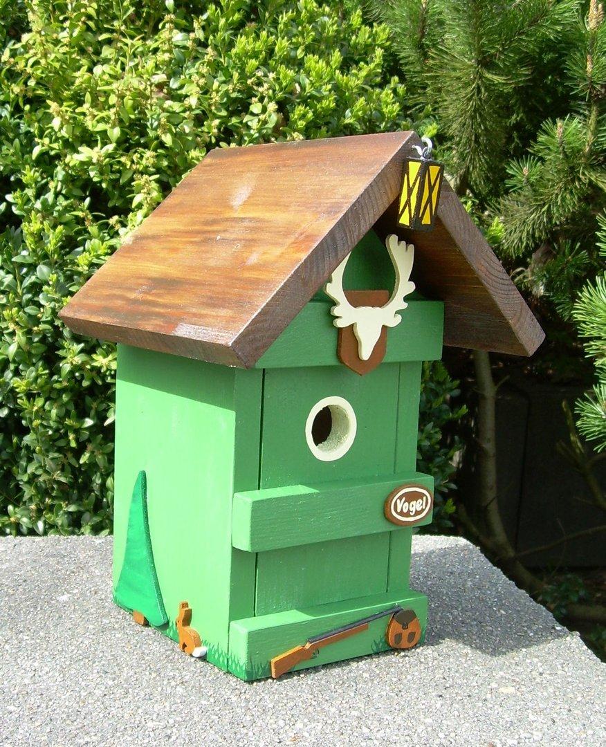 vogelhaus jagdhaus das geschenk f r jaeger geschenke. Black Bedroom Furniture Sets. Home Design Ideas