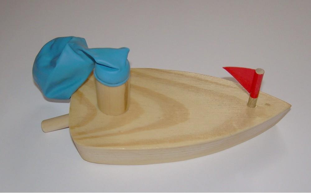 ballonboot aus holz - originelle deko & geschenke,