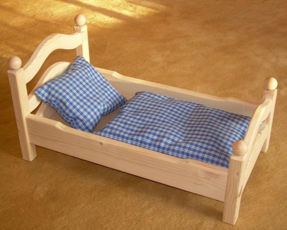 puppenbett spielzeug einebinsenweisheit. Black Bedroom Furniture Sets. Home Design Ideas