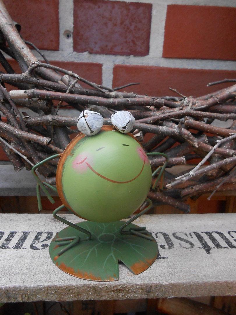 Frosch aus metall originelle deko geschenke for Deko geschenke