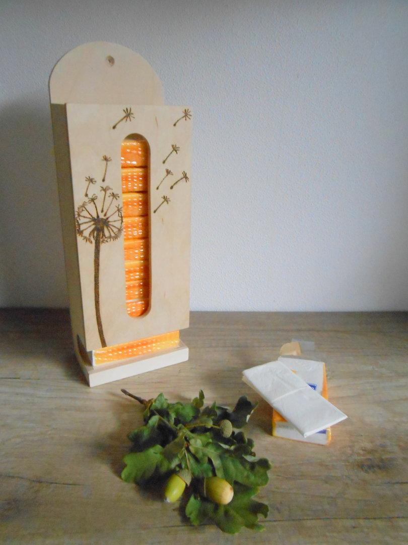 Taschentuchspender pusteblume dekorationen geschenke for Pusteblume dekoration